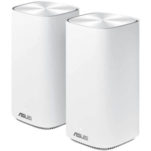 Sistem Wi-Fi Mesh ASUS ZenWiFi AC1500 Mini CD6, MIMO, 2 noduri, White, CD6(2-PK)