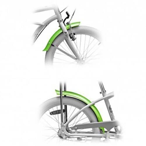 Aparatori Pegas Strada Mini + suport, culoare verde, FD-STRADAMINI-GR