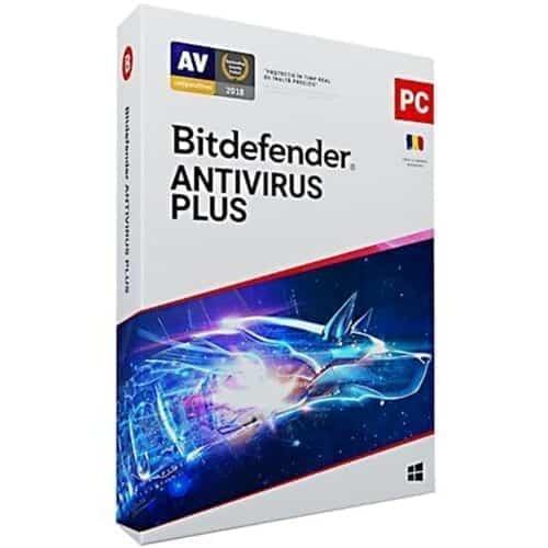 Bitdefender Antivirus Plus, 1 an, 1 dispozitiv, Retail, Box, New, AV03ZZCSN1201BEN