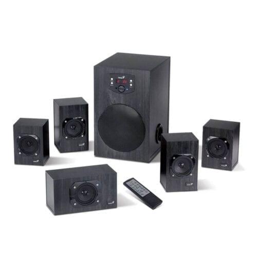 Boxe Genius SW-HF 5.1 4500, 125W RMS, Wood, G-31730015400
