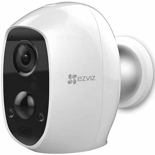 Camera supraveghere wireless IP Bullet EZVIZ C3A, 2 MP, lentila 2.2 mm, IR 7.5 m, acumulator intern 5500 mAh, PIR