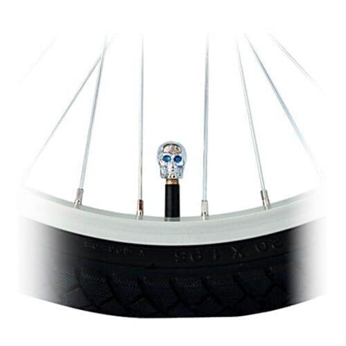 Capac Valva Craniu, Argintiu / Albastru, C06CSAV20-SILVER