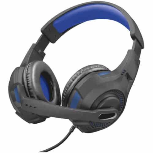 Casti Gaming Trust GXT 307B Ravu pentru PlayStation 4, Negru / Albastru