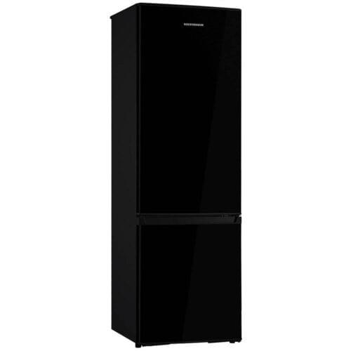 Combina frigorifica Heinner HC-H273BKF+, 264 L, Clasa A+, LED, H 176 cm, Negru