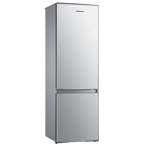 Combina frigorifica Heinner HC-H273SF+, 264 L, Clasa A+, LED, H 176 cm, Argintiu