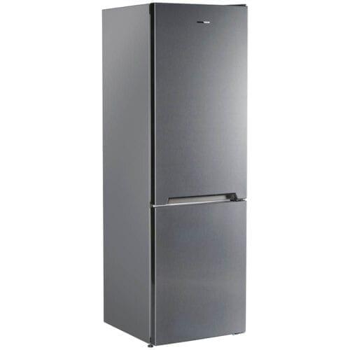 Combina frigorifica Heinner HC-V336XE++, 336 L, Clasa A++, less frost, LED, H 186 cm, Argintiu
