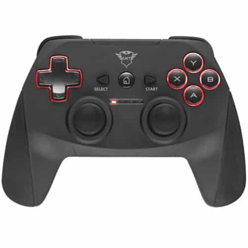 Controller Trust GXT 545 Yula, Wireless, PC, PS3, Negru