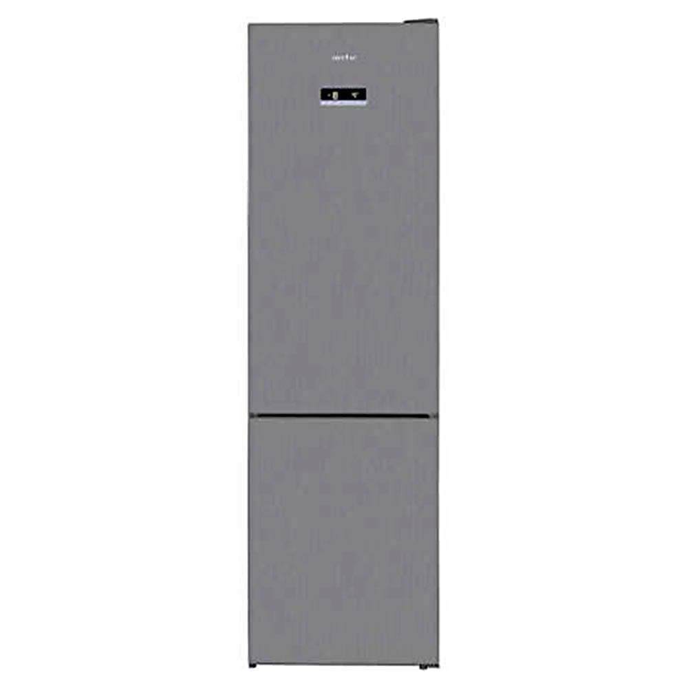 Combina frigorifica Arctic AK60406E40NFMT, 362 l, NoFrost, Display, Air Flow, Clasa A++, H 202cm, argintiu, AK60406E40NFMT