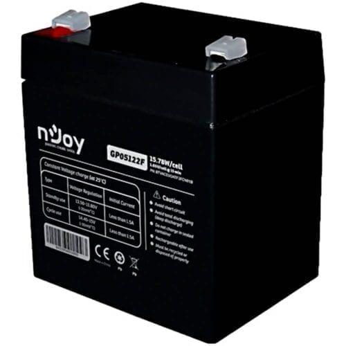Acumulator UPS nJoy GP07122F, 12V/7Ah, 23.51W/celula, conectori T2, BTVACEUOATF2FCN01B