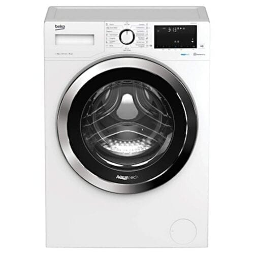 Masina de spalat rufe Beko WUE8736XN, 8 kg, 1400 RPM, Clasa A+++, Motor ProSmart Inverter, Hygiene, Alb, WUE8736XN