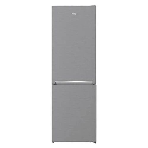 Combina frigorifica Beko RCNA366K40XBN, 324 l, Clasa A++, NeoFrost Dual Cooling, H186 cm, metal look, RCNA366K40XBN