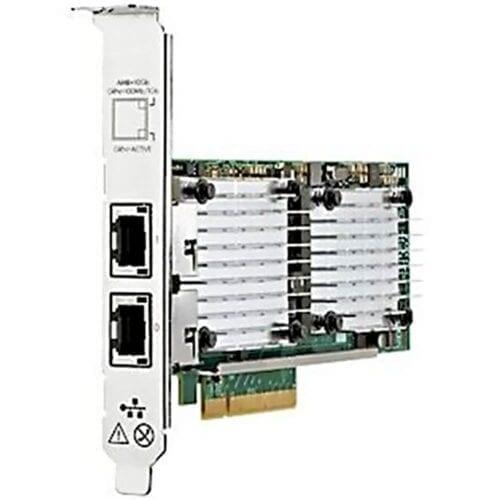 Placa de retea server HPE 530T Ethernet, 10Gb, PCIe 2.0, 2 porturi, 656596-B21