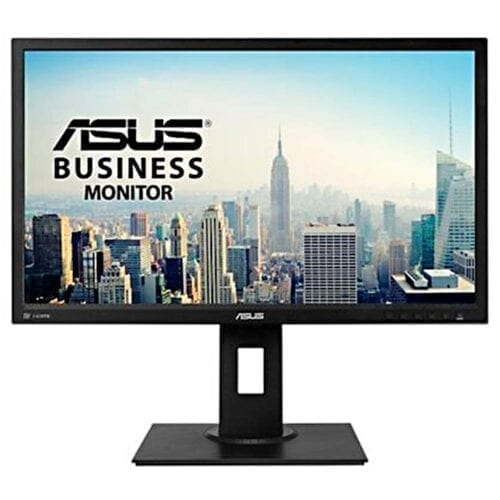 Monitor Asus BE249QLBH, 23.8″, Full HD 1920×1080, Flicker Free, Low Blue Light, DP, HDMI, DVI, negru, BE249QLBH