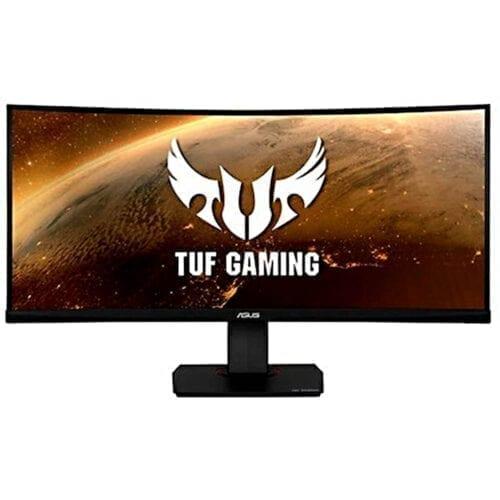Monitor gaming curbat Asus TUF VG35VQ, 35″, VA LED, UltraWide QHD, 1ms, 100Hz, HDR-10, Negru, VG35VQ