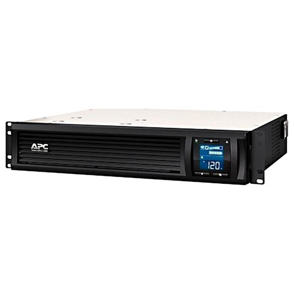UPS APC Smart-UPS 1000VA, 600W, rack mount 2U, LCD, 230V, USB, SmartConnect, 4xIEC C13, SMC1000I-2UC