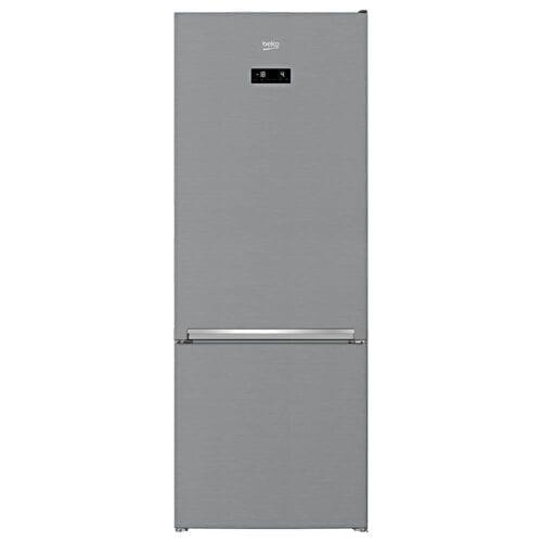 Combina frigorifica Beko RCNE560E40ZXBN, 501 L, harvestFresh, NeoFrost, Clasa A++, H 192cm, argintiu, RCNE560E40ZXBN
