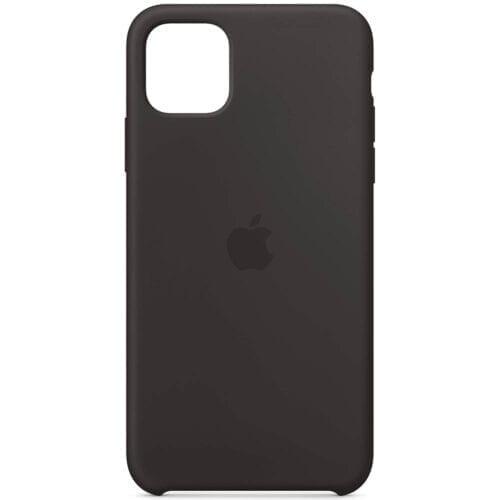 Husa de protectie Apple pentru iPhone 11 Pro Max, Silicon, Black, MX002ZM/A