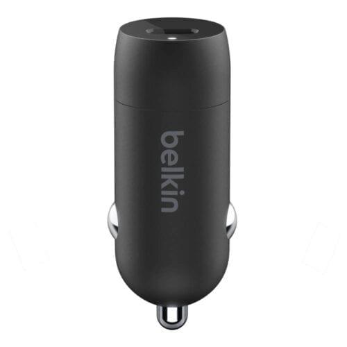 Incarcator auto Belkin USB-C, 18 W, CCA003BTBK