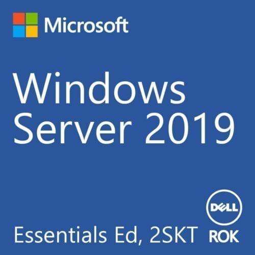 Licenta Dell Windows Server 2019 Essentials Ed, 2SKT, ROK