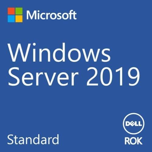 Licenta Microsoft Windows® Server 2019 Standard, Dell ROK, 16 Core, 2 VM, 634-BSFX