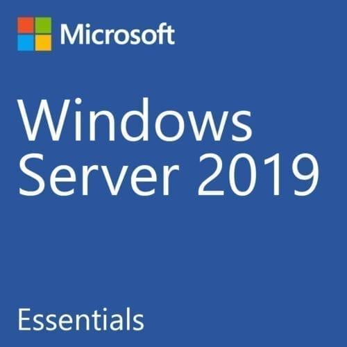 Licenta OEM Microsoft Windows 2019 Essentials, 64 bit, 1-2 CPU, Engleza, DVD, G3S-01299