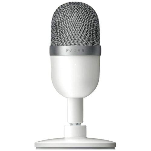 Microfon gaming Razer Seiren Mini, Alb mercury