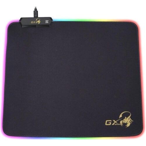 Mouse Pad Gaming Genius GX-Pad 300S RGB, Negru