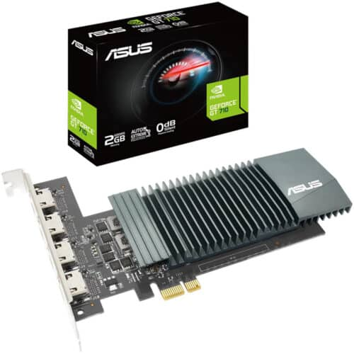 Placa video ASUS GeForce GT 710, 2GB GDDR5, 64 bit