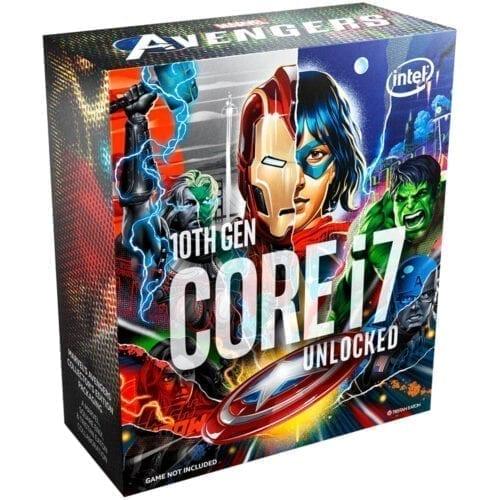 Procesor Intel® Core™ i7-10700KA Comet Lake, 3.8 GHz, 16MB, Socket 1200, Marvels Avengers Collectors, BX8070110700KA