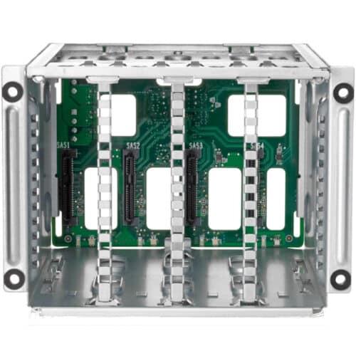 Rack HDD pentru Server HPE ProLiant DL38X Gen10, SFF Box1/2 Cage/Backplan