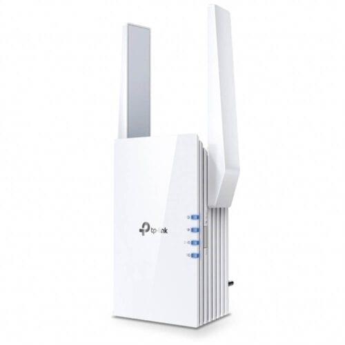 Range Extender TP-Link RE605X, AX1800, WiFi 6 Dual-Band Gigabit, tehnologie OneMesh