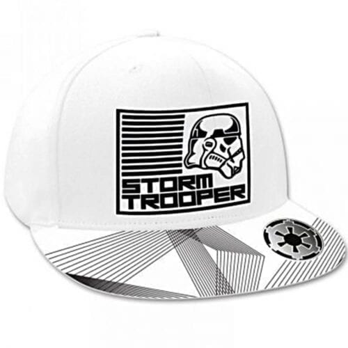 Sapca Disney Star Wars Storm Trooper, bumbac, culoare alb, NV3065