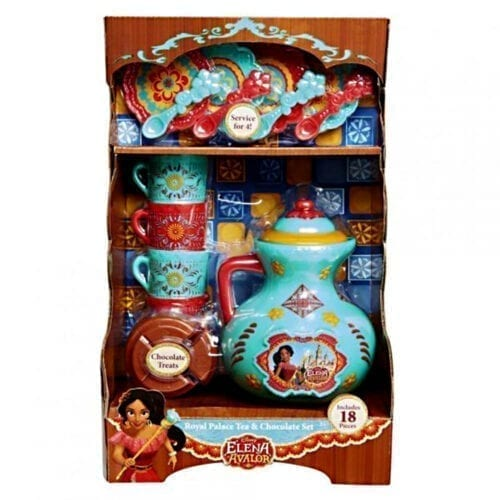 Set ceai si ciocolata din Palatul Regal, Elena din Avalor, JKE33663, JKE33663