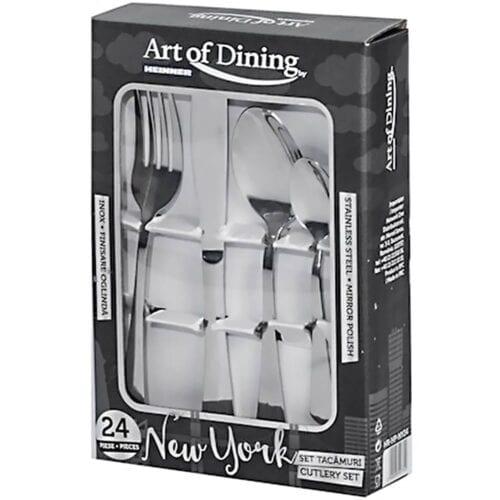 Set tacamuri 24 piese Art of Dining Heinner New York, HR-HP-NY24