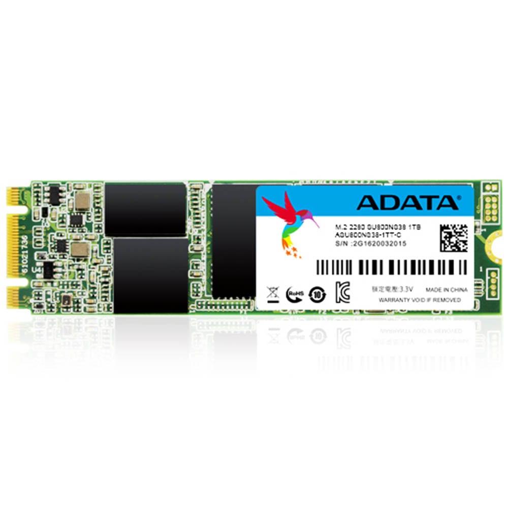 SSD ADATA SU800, 1TB, SATA III, M.2 2280, ASU800NS38-1TT-C