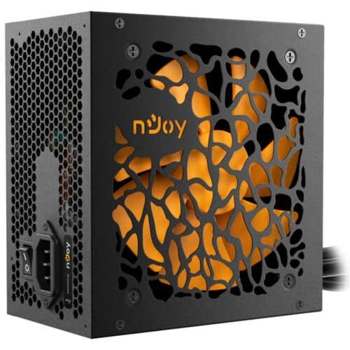 Sursa nJoy Theta 650, 650W, 80+ Bronze, semi-modulara, PFC Activ