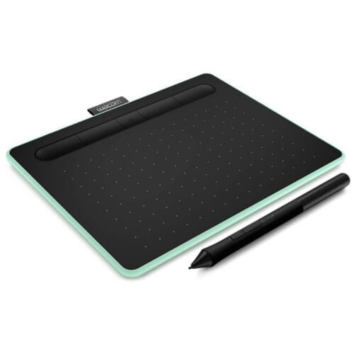 Tableta grafica Wacom Intuos S Bluetooth, Negru / Verde, CTL-4100WLE-N