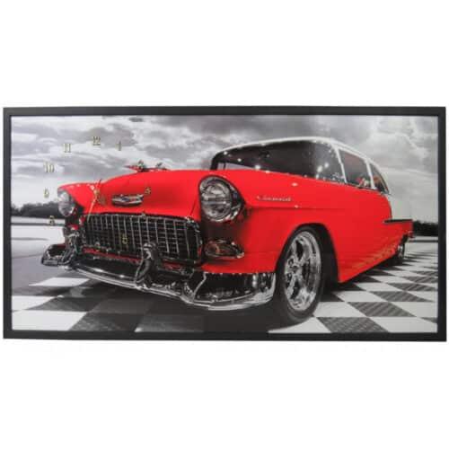 Tablou cu ceas inramat Heinner, 50 x 100 cm, Chevy
