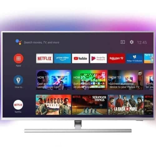 Televizor LED Philips 43PUS8505/12, 108 cm, Smart Android, 4K, Ultra HD