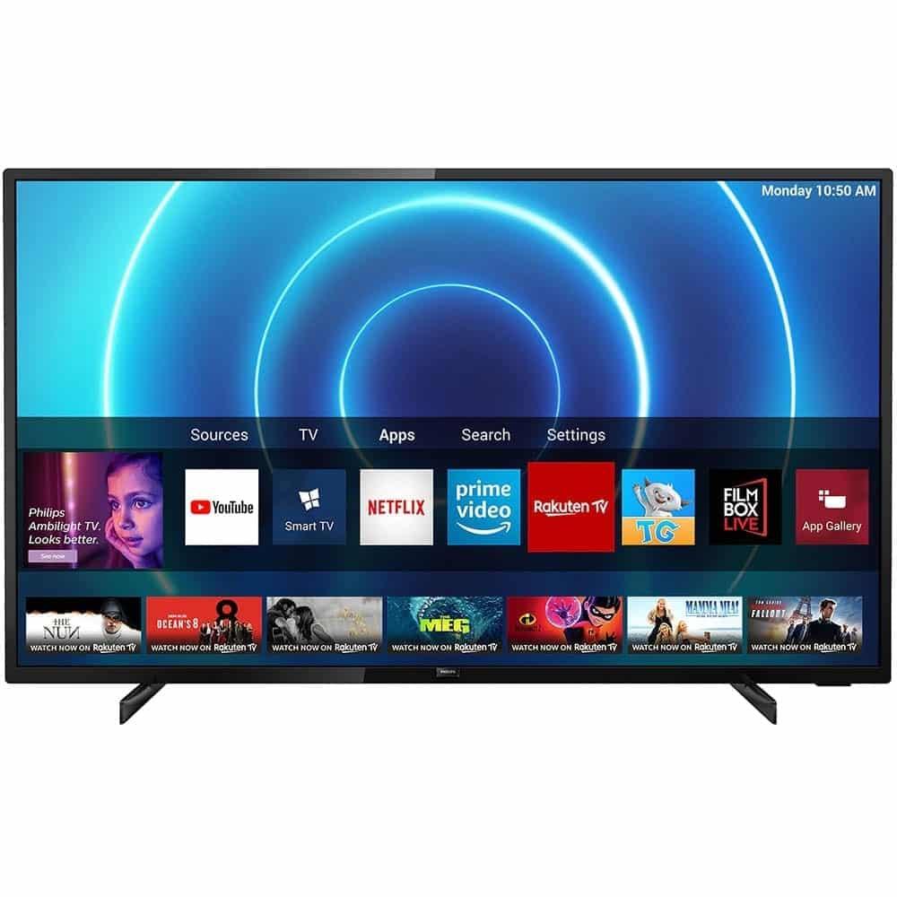 Televizor Philips LED, 43PUS7505/12, 108 cm, Smart, 4K, Ultra HD