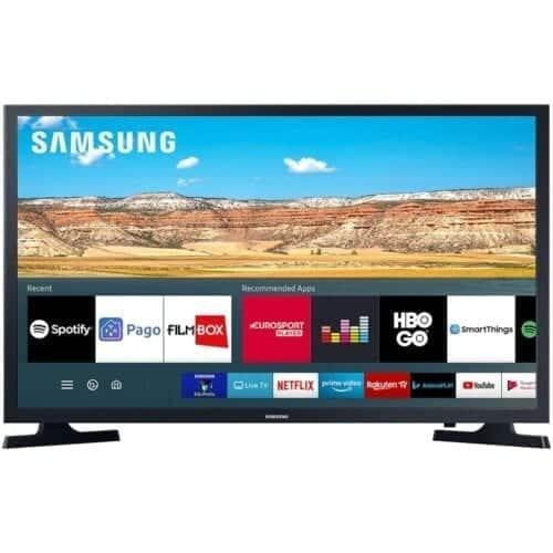 Televizor Samsung LED UE32T4302AKXXH, 80 cm, Smart, HD, HDR, Wi-Fi, Negru