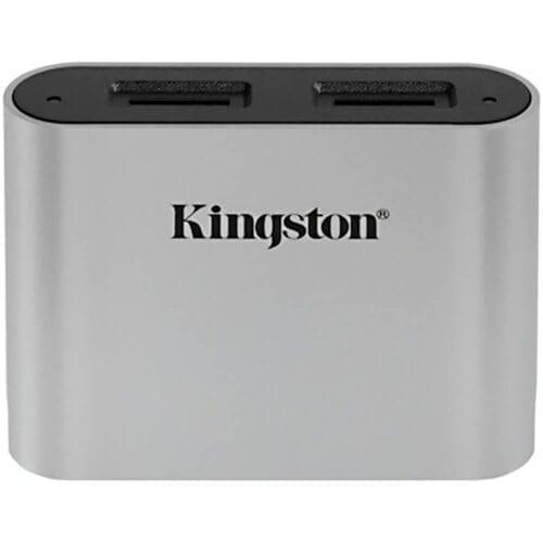 Accesoriu Kingston Workflow Station Card Reader Dual-Slot, microSDHC si SDXC UHS-II, USB3.2 Gen1, WFS-SDC