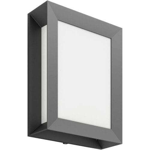 Aplica exterior Philips Karp 1x6W Led, Antracit, 000008718696131282