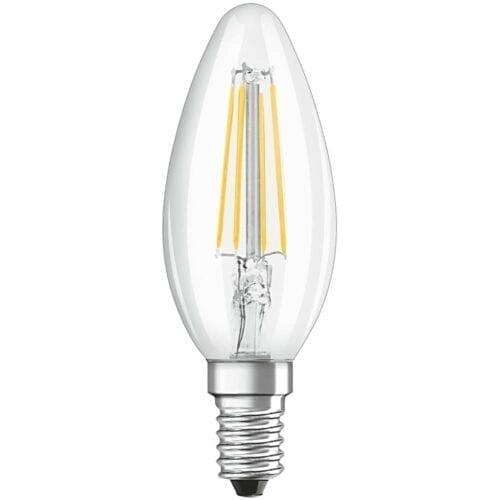 Bec LED Osram, LED Retrofit Classic B, E14, 4W (40W), lumina neutra 4000K, 470 lumeni