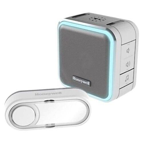 Sonerie de usa portabila Wireless Honeywell DC515EG, control volum, raza de actiune 150 m, Gri, DC515EG