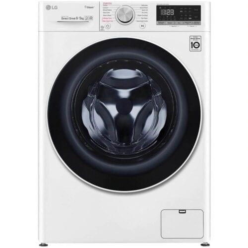 Masina de spalat rufe cu uscator LG F4DN409S0, 1400 RPM, 9 Kg spalare, 5 Kg uscare, Wi-Fi, Clasa A
