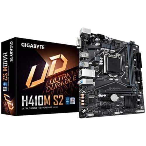 Placa de baza Gigabyte H410M S2, Socket 1200, DDR4