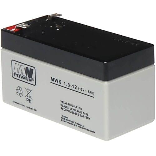 Acumulator AGM, 1.3Ah, 12V, seria MW Power, MWS1.3-12