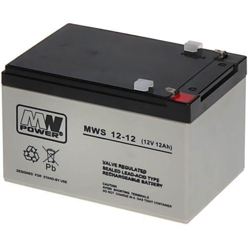 Acumulator AGM, 12Ah, 12V, seria MW Power, MWS12-12