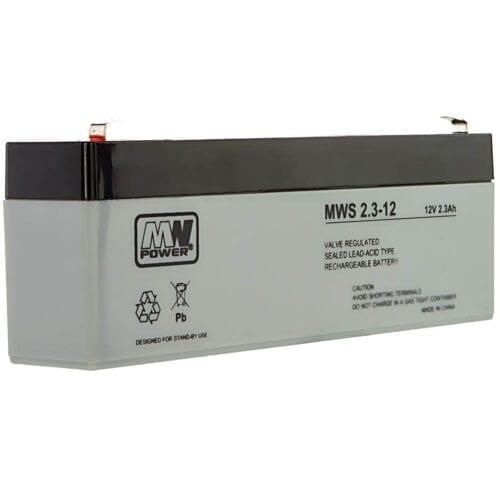 Acumulator AGM, 2.3Ah, 12V, seria MW Power, MWS2.3-12